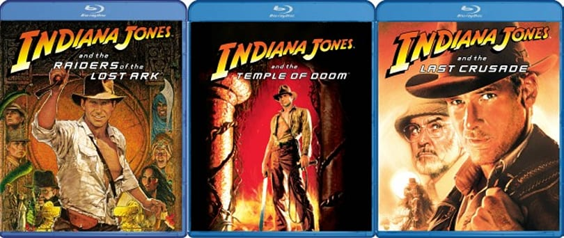 All three Indiana Jones movies are finally coming to Blu-ray individually