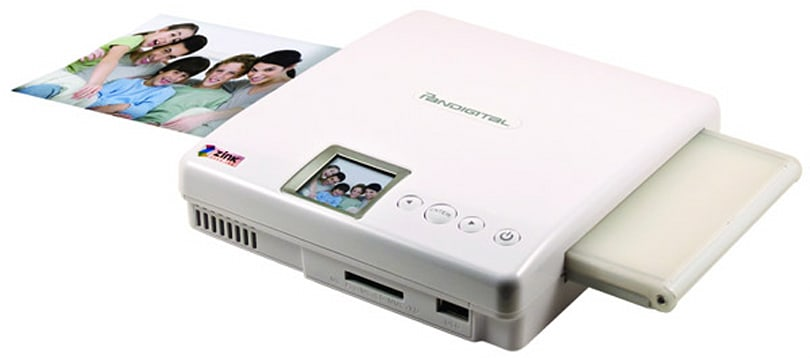 Pandigital crams Zink technology within Portable Photo Printer