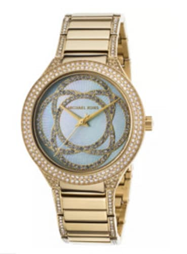 Michael Kors Kerry Gold-Tone Stainless Steel MOP Dial