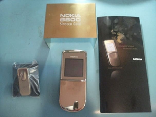 Nokia responsible for 8800 Sirocco Gold?