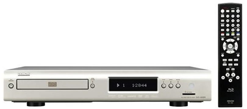 Denon ships DVD-1800BD Blu-ray player to the UK