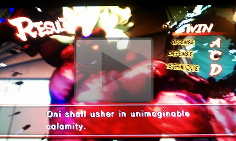 Evil Ryu and 'Oni' unlocked in Super Street Fighter IV Arcade Edition [update: video pulled]