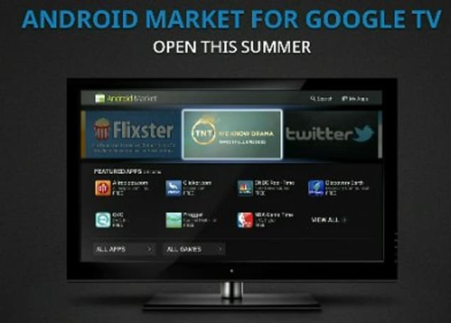 Google TV getting Android 3.1 and Market this summer; Sony, Vizio, Samsung and Logitech onboard