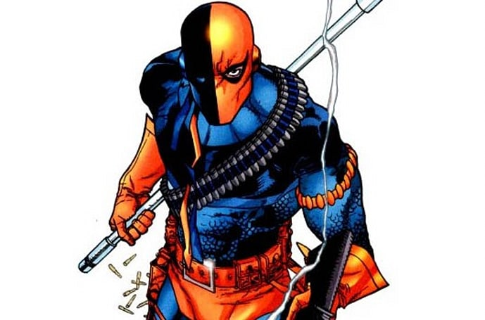 Deathstroke carves himself into the Injustice: Gods Among Us roster