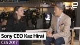 Exclusive: Sony CEO Kaz Hirai at CES 2017