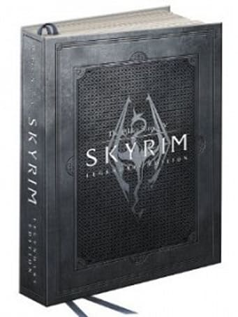 Skyrim: Legendary Edition strategy guide crushes coffee tables