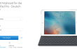 Apple Smart Keyboard für iPad Pro jetzt auch in Deutsch