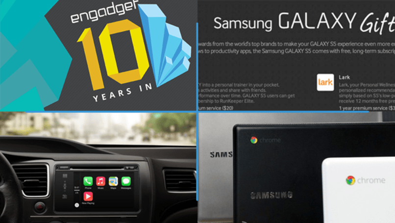 Daily Roundup: Engadget's 10th birthday, Apple announces CarPlay, and more!