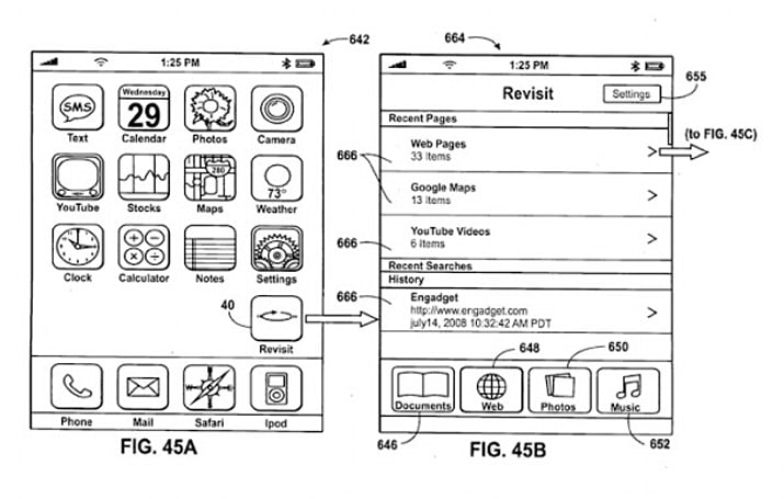 Apple 'Grab & Go' sync patent application features... Engadget