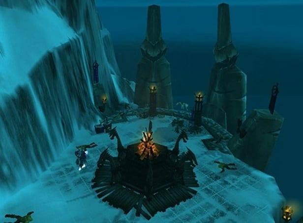 An artistic look at the Alliance Northrend flight points