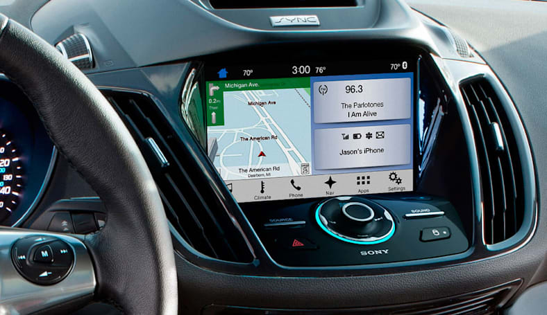 Ford Sync 3 launches in the Escape and Fiesta this summer