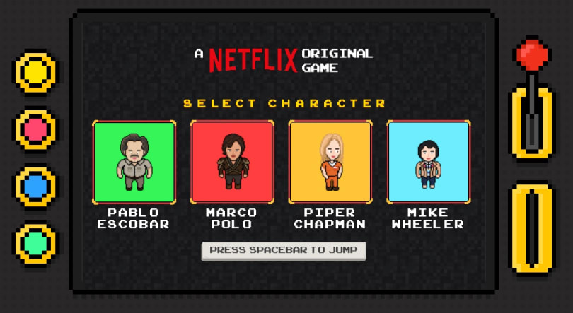 Netflix made a game featuring some of its top shows