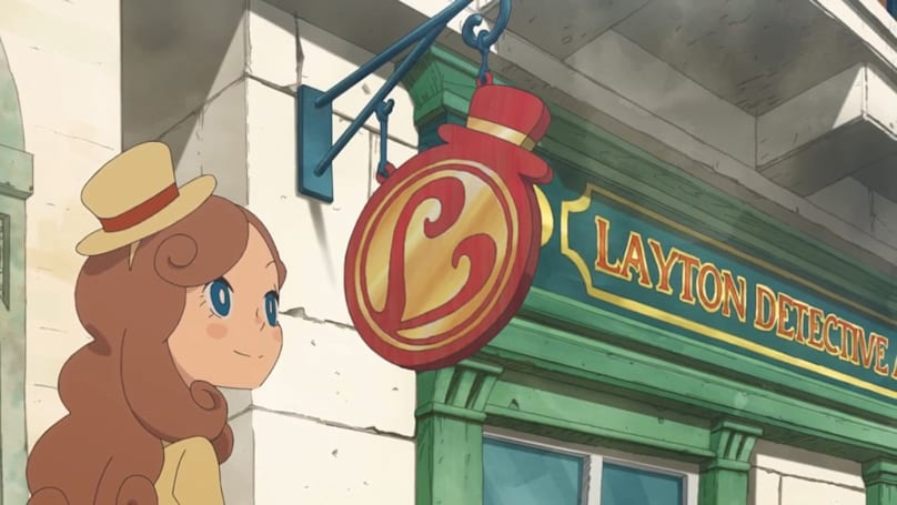 Level-5's 3DS puzzle series is back with 'Lady Layton'
