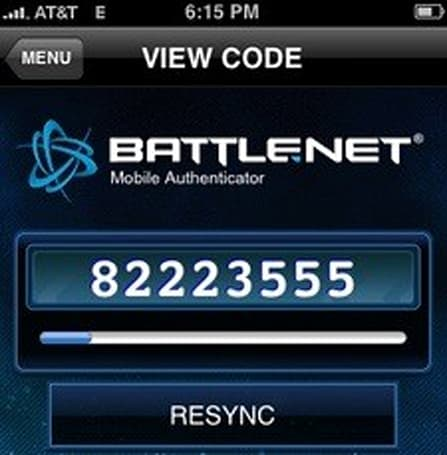 Battle.net Mobile Authenticator hands-on
