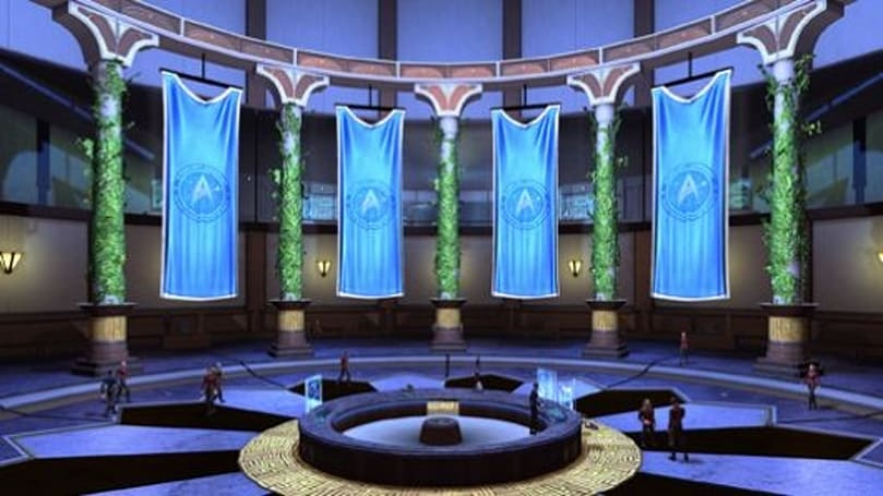Go green in your Star Trek Online embassy
