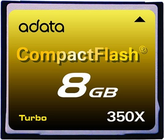 A-DATA unveils speedy Turbo Series 350X CompactFlash cards