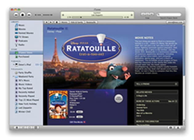 iTunes movie rentals in Europe on a slow boat to China