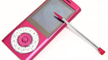 HiPhone F320: 'a rotary phone and an iPod nano walk into a bar...'