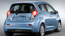 Chevy Spark EV rated most efficient retail car with 82-mile range, 119 MPGe