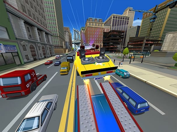 Crazy Taxi: City Rush is a new mobile game that's free-to-hey-hey-hey