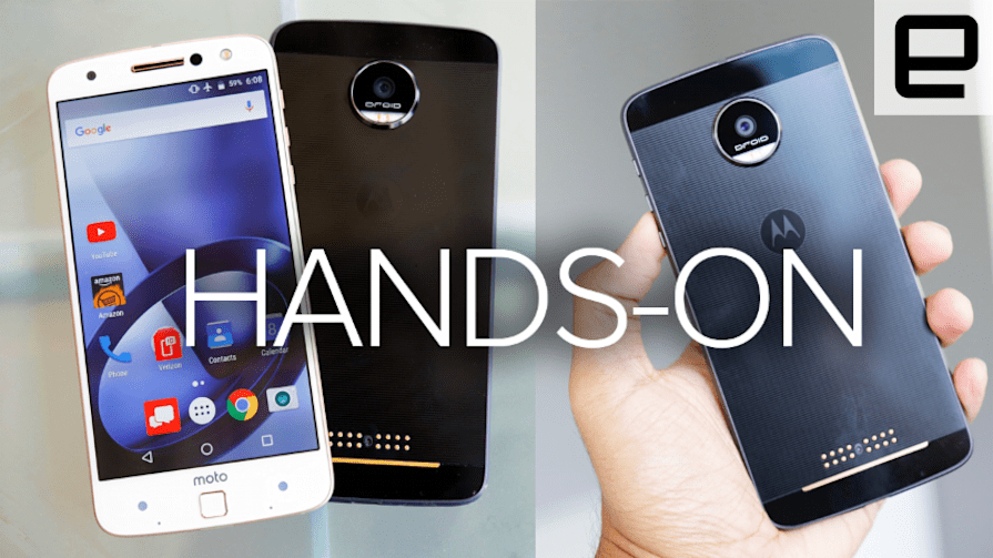 Moto Z and Moto Z Force Hands-on