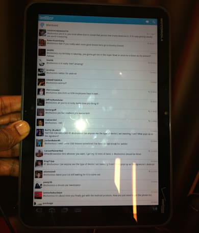 Motorola Xoom lands in Chad Ochocinco's safe hands, is 'pretty awesome'