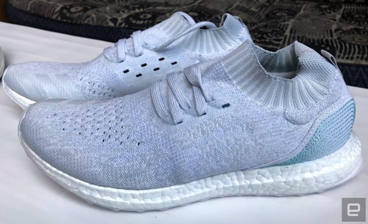 Adidas made an ocean-plastic shoe you can actually buy