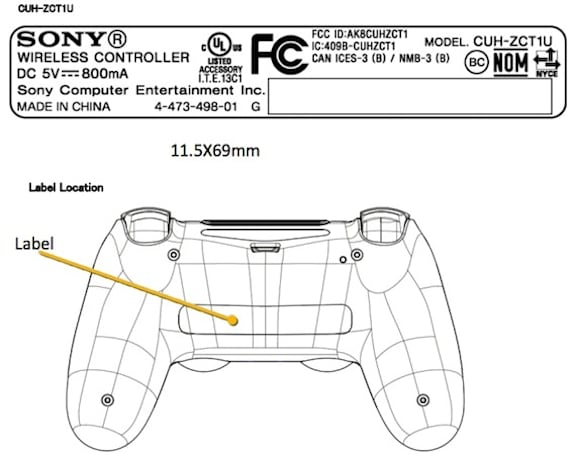 PlayStation 4's DualShock 4 controller passes through the FCC solo