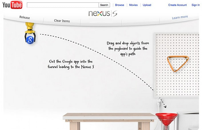 Nexus S mini-game adds whimsy to list of must-have specs