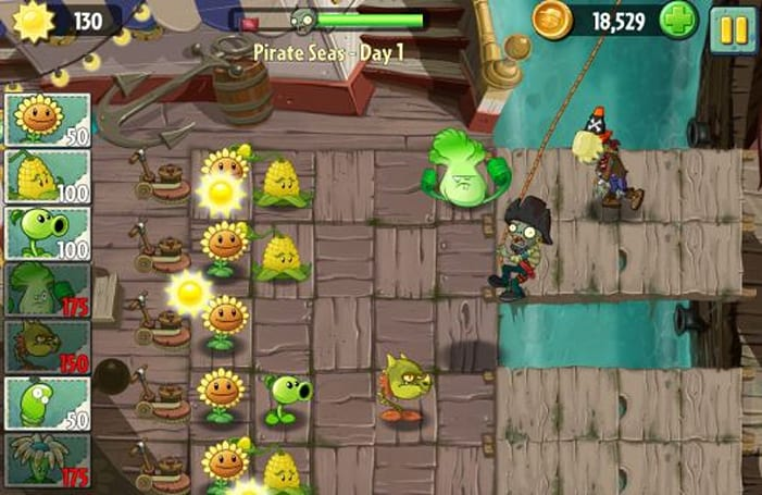 Plants vs. Zombies 2 delayed until 'later in the summer'