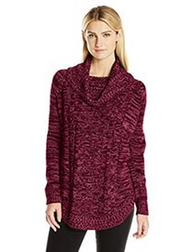 Jason Maxwell Marled Cable Tunic Sweater
