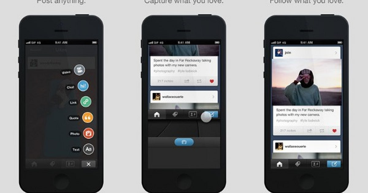 android on iphone updates ios app to match redesigned android interface 10074