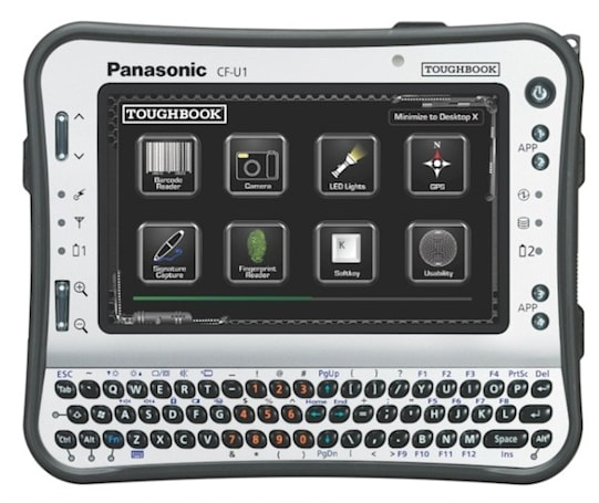 Panasonic Toughbook U1 gets new sunlight-viewable screen, still solid to its Atom core