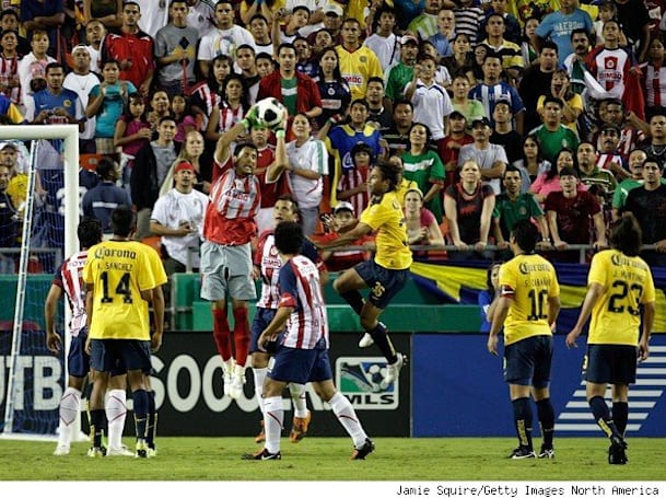 Televisa broadcasted the first soccer match in 3D
