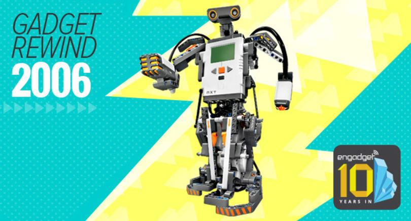 Gadget Rewind 2006: Lego Mindstorms NXT