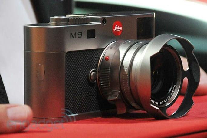 Leica introduces M9 'Titanium,' limited to just 500 luscious pieces