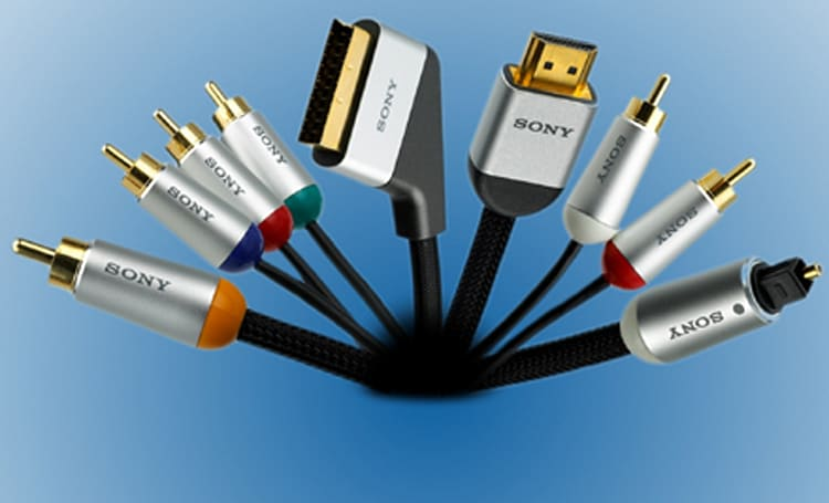 Sony unveils slew of high-end AV cables in Europe