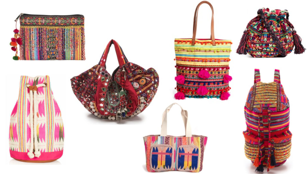 Brighten up your wardrobe with these colorful bags