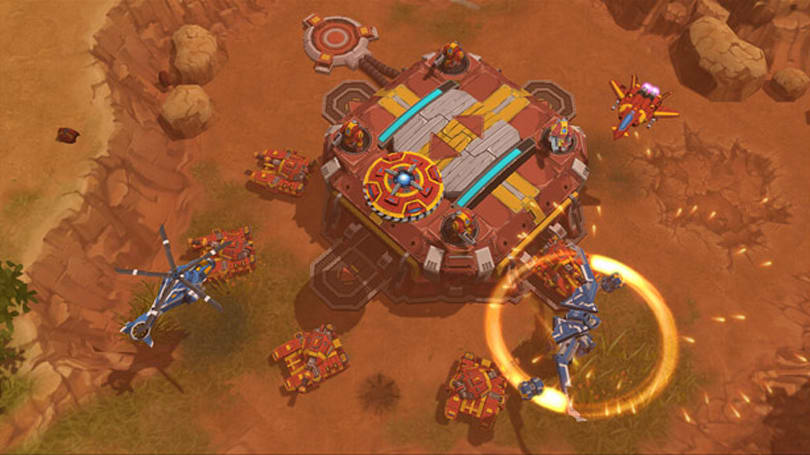 Xbox 360 RTS AirMech Arena enters closed beta July 23