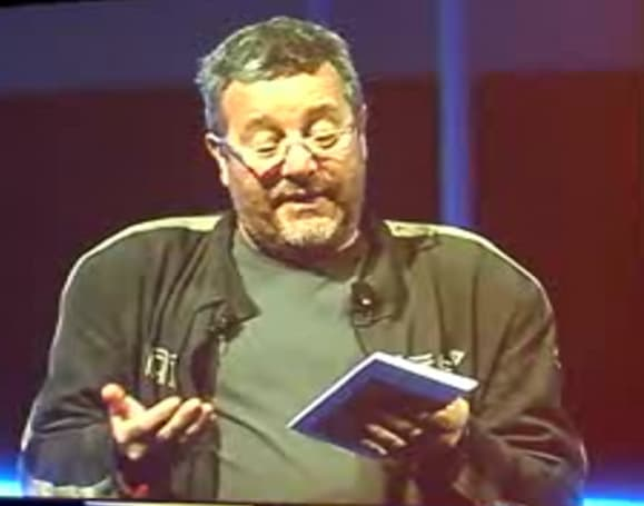 "Philippe Starck calls the Kindle ""a little sad"""