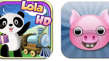 Two apps to teach spatial relationships and the alphabet to kids