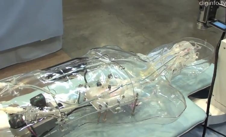 Cybram 001 simulator helps doctors practice brain surgery without risking lives (video)