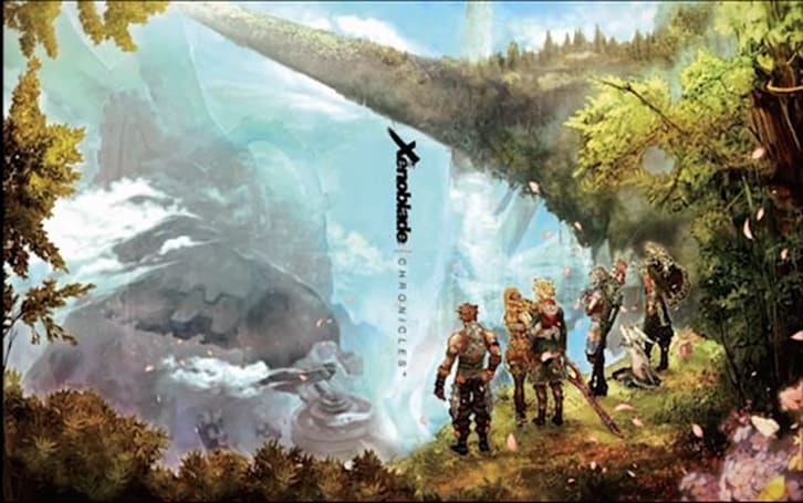 Xenoblade Chronicles arrives on April 6 wrapped in this gorgeous box art