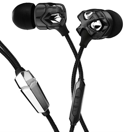 V-Moda's metallic Vibrato earbuds get Kevlar cable, in-line iPhone remote