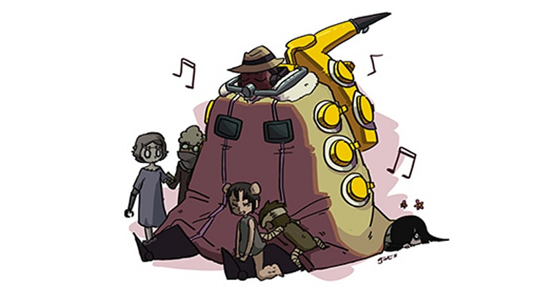 Big Band, Skullgirls' first male character, joins the fight next week