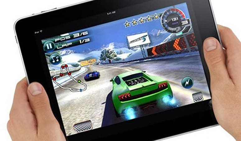 Survey reveals 28 percent of iPad owners use it mainly for gaming