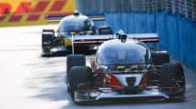 Erstes Rennen selbstfahrende Rennautos endet im Crash