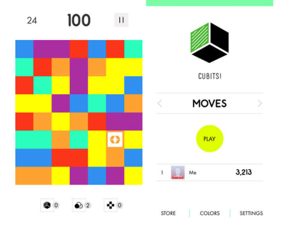 Daily App: Cubits! mixes Tetris with Rubik's Cube in a new tile-sliding game