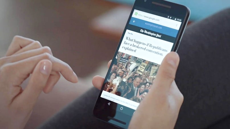 Google brings fast-loading articles to your phone
