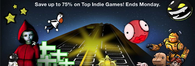 Steam offers 75% discount on indie games this weekend
